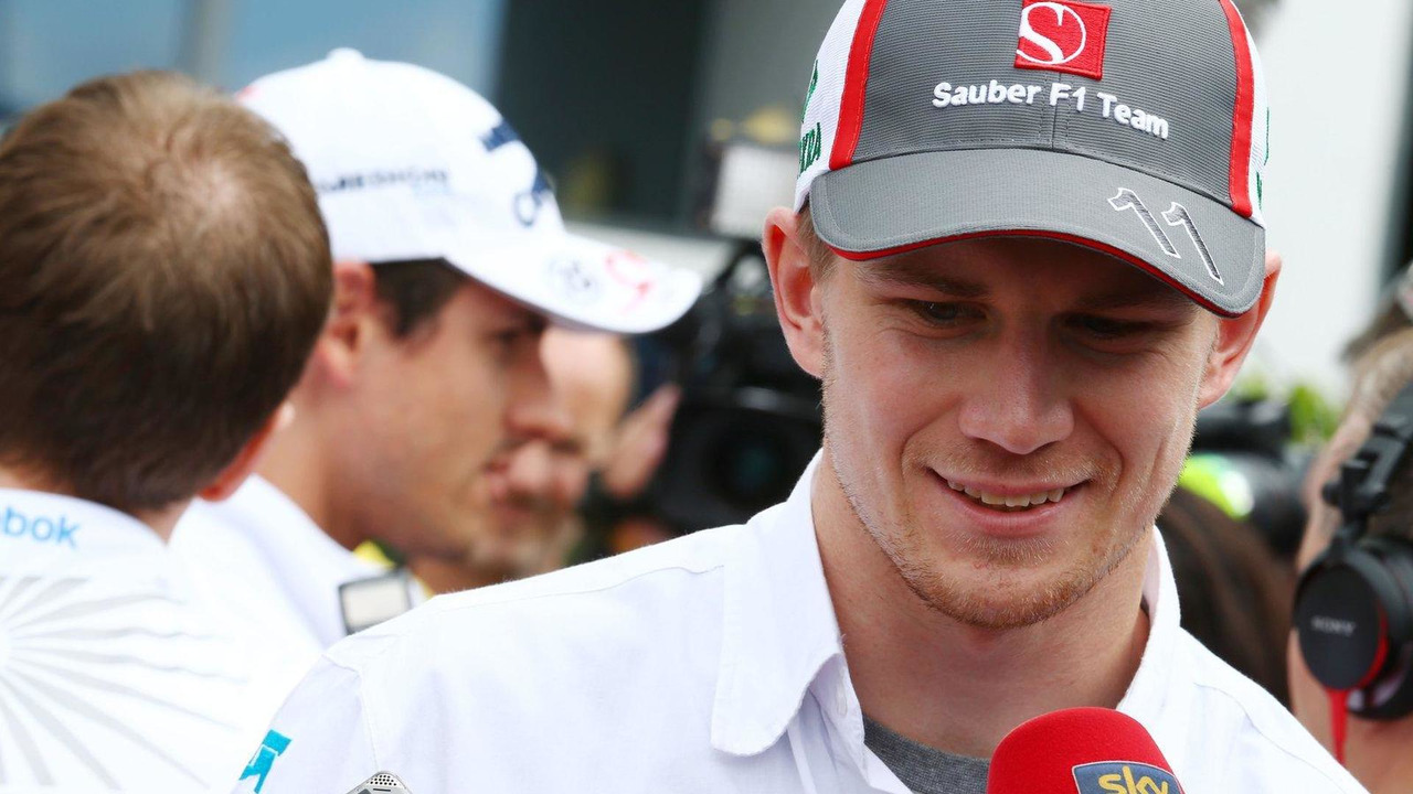 Nico Hulkenberg 04.07.2013 German Grand Prix