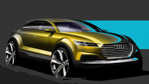 Audi releases design sketches previewing Q4 concept