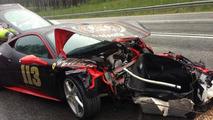 Ferrari 458 Italia is 2013 Gumball 3000 victim number two