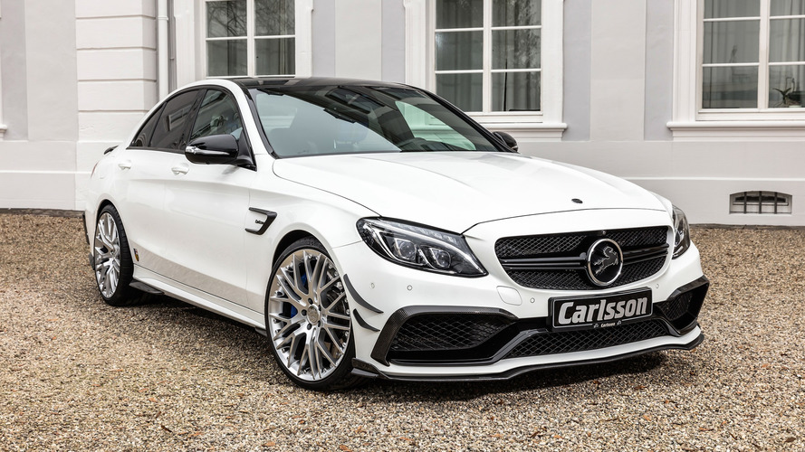 Découvrez la redoutable Mercedes-AMG C 63 S imaginée par Carlsson !
