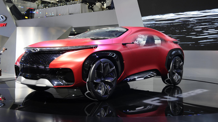 Chery FV2030 concept turns heads at Auto China