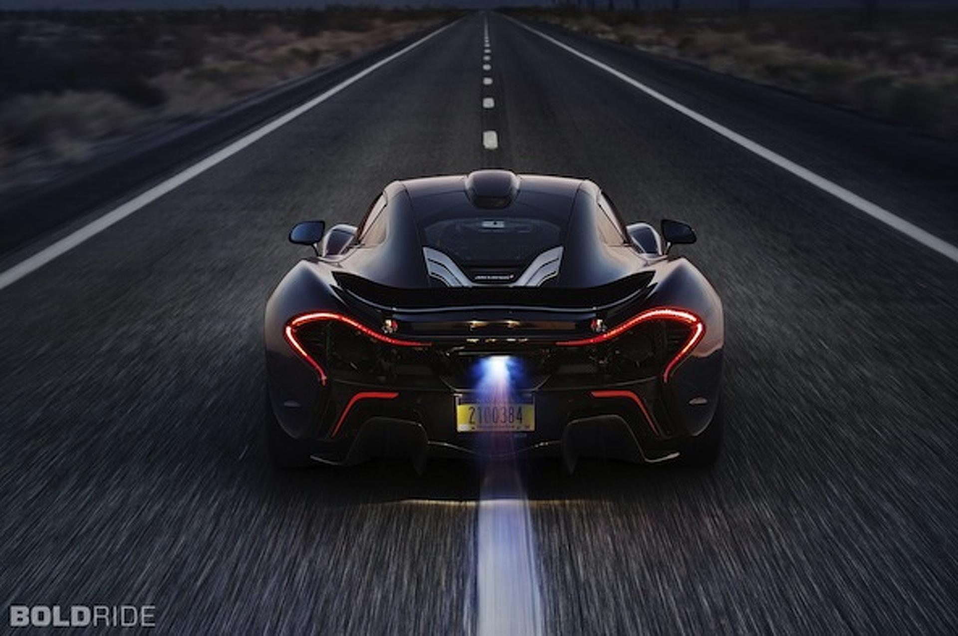 McLaren P1 Takes on the Southwest Heat [w/video]