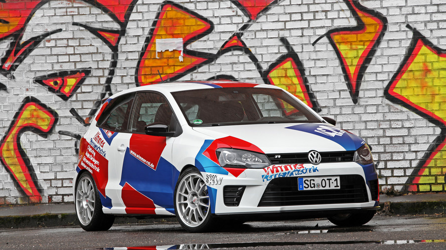 Tuned VW Polo R WRC Street has more power than Golf R400