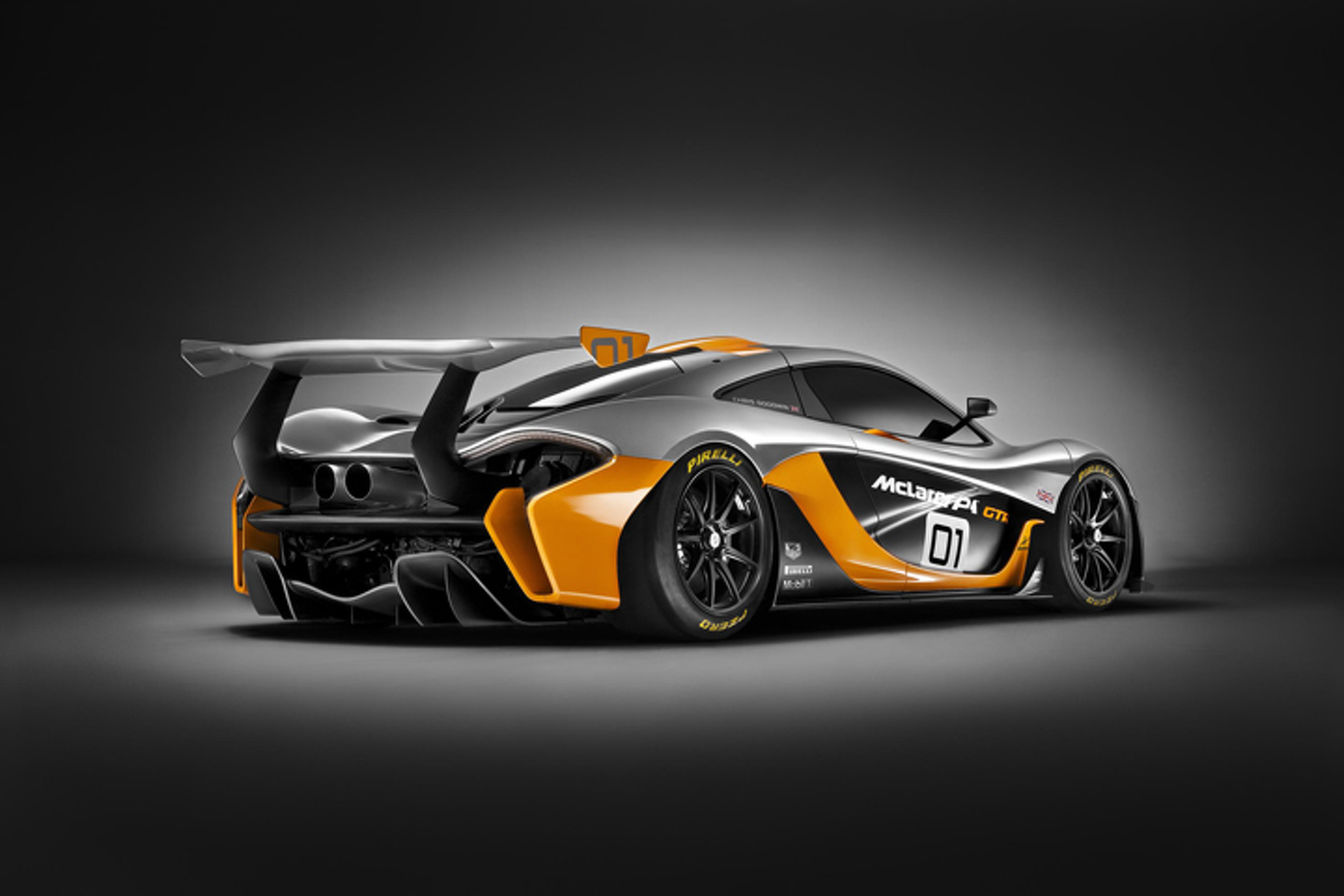 The McLaren P1 GTR is a 986HP Track Missile: Pebble Beach
