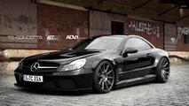 Mercedes SL65 AMG gets Black Series conversion by TC-Concepts