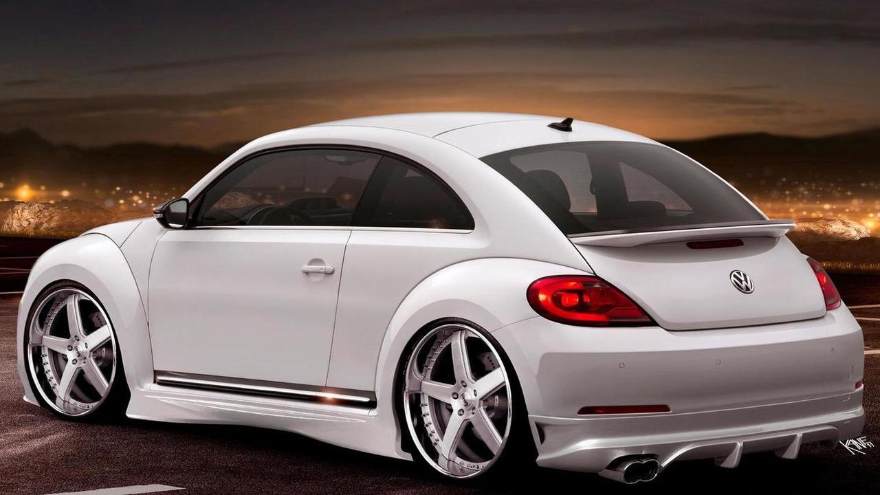 2012 Volkswagen Beetle R speculative artist rendering, 1600, 21.04.2011