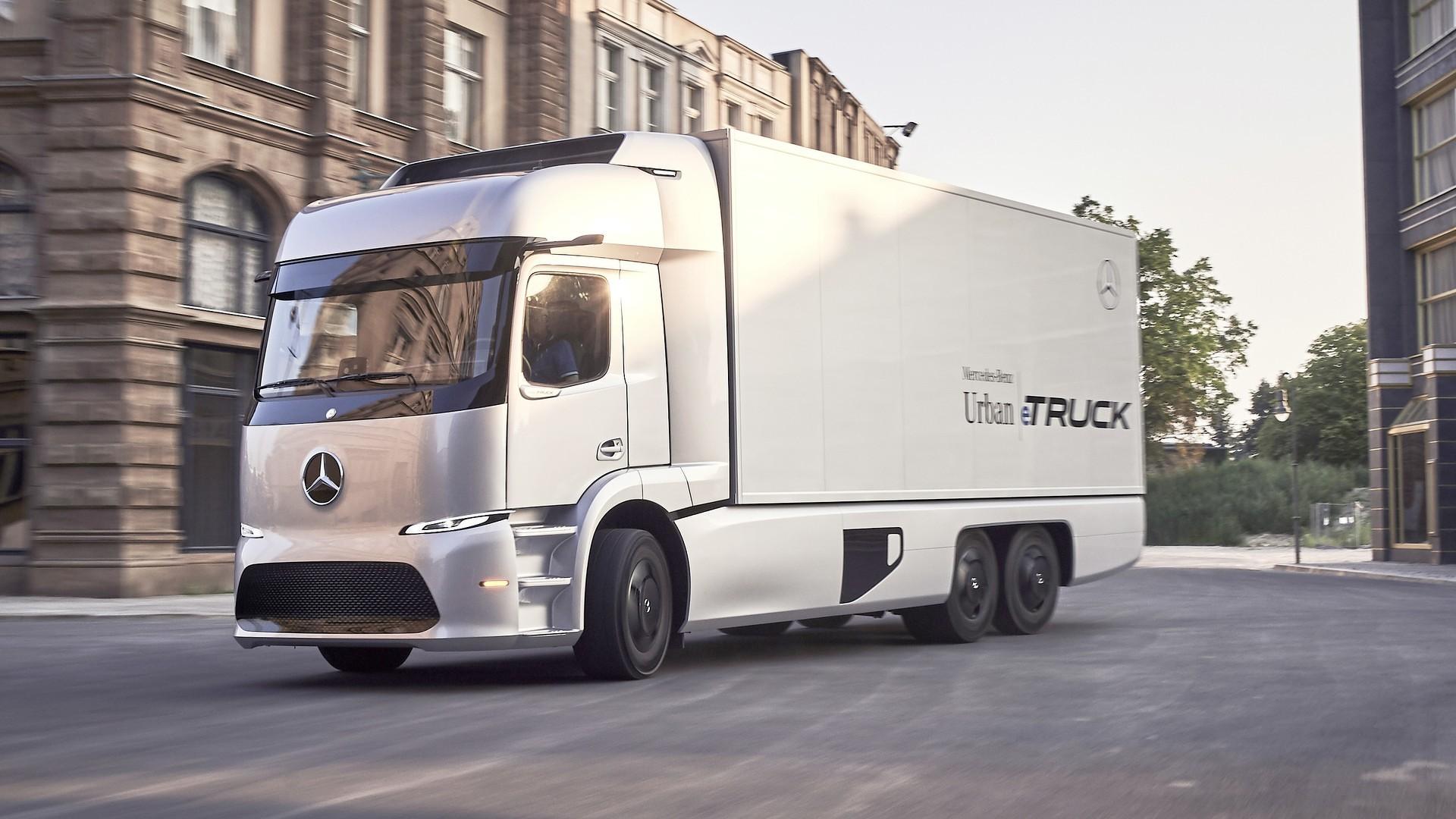 Mercedes Urban eTruck Concept has 124-mile electric range