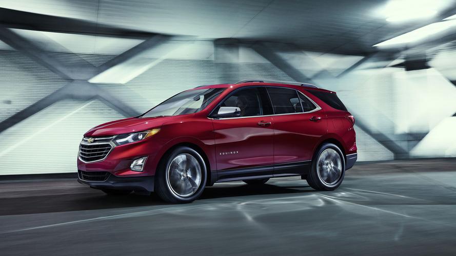 2018 Chevrolet Equinox debuts with 400-pound diet, diesel option
