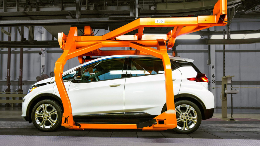 Chevrolet Bolt Production Begins