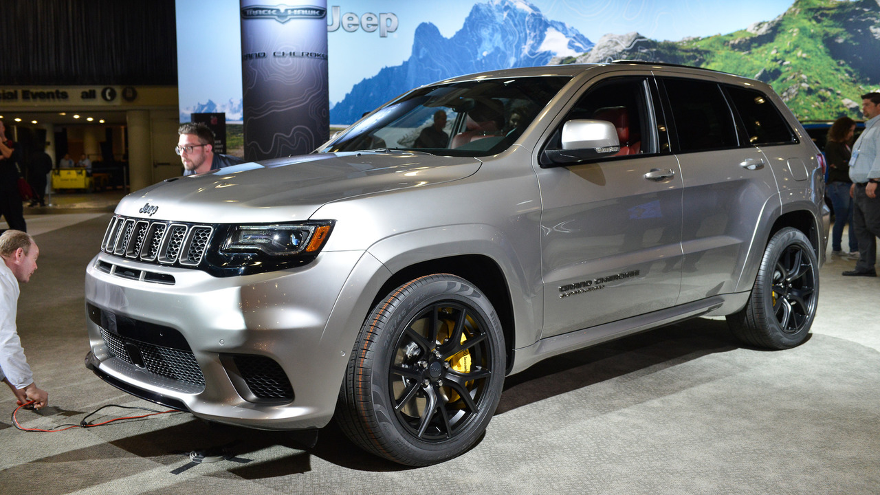 Track Hawk Grand Cherokee >> Jeep Grand Cherokee Trackhawk Offers 707 HP For $85,900