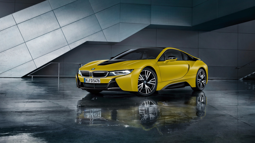 BMW i8 Coupé Protonic Frozen Yellow Edition, edición especial para China