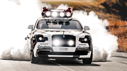 Crazy 810-HP Rolls-Royce Wraith Has Jet-Powered Surfboard