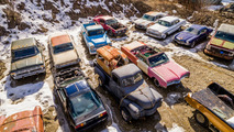 Vintage cars on five acres land for sale in BC