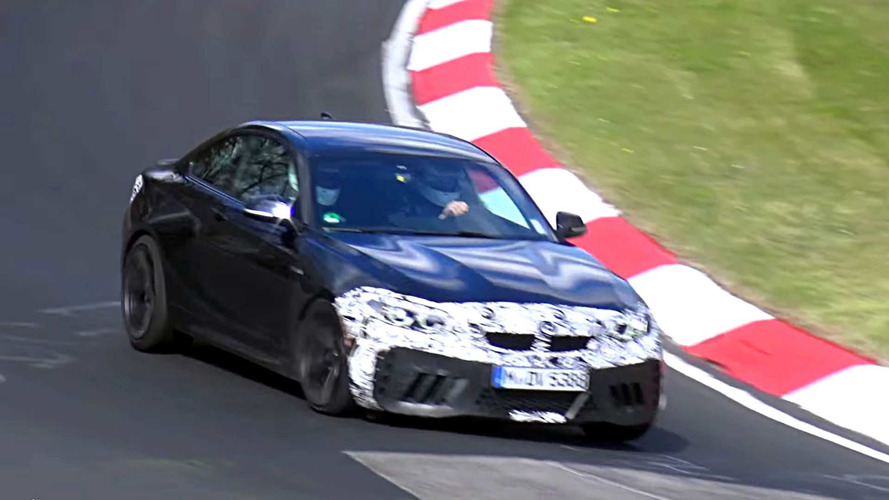 BMW M2 CS Spied At The Nurburgring