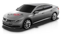 2018 VW CC leaked official image