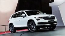 Skoda Kodiaq at 2016 Paris Motor Show