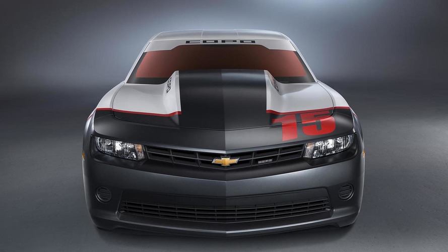First 2015 COPO Camaro being auctioned off by Barrett-Jackson