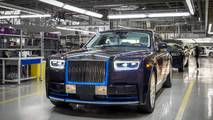 First produced 2018 Rolls-Royce Phantom