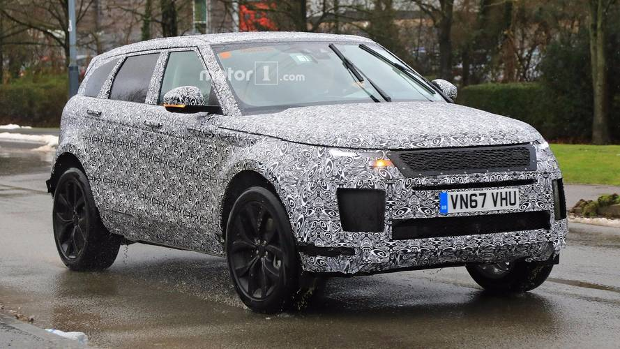2019 Range Rover Evoque Spy Photo Photo