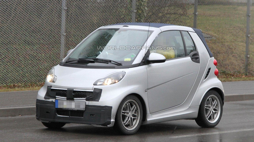 smart fortwo Brabus facelift II spied