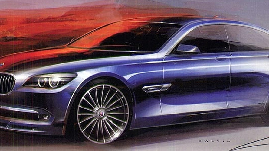 BMW Alpina B7 Teaser Sketch Released