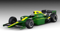 Lotus-Cosworth IndyCar Series 2010 Rendering 15.03.2010