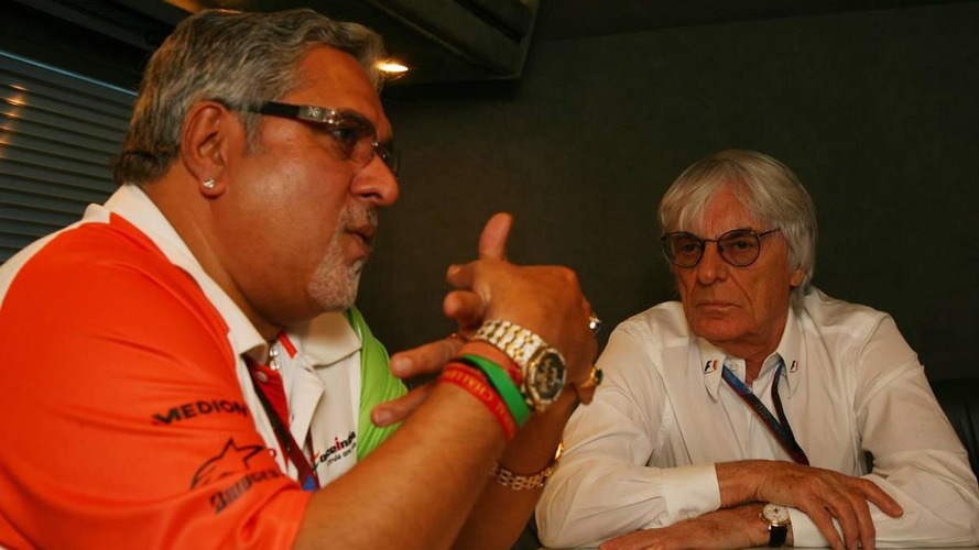 Mallya in talks to buy club from Ecclestone