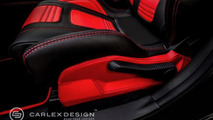 Subaru Cosworth Impreza STI CS400 interior customized by Carlex Design Europe