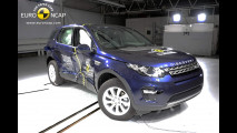 crash test Land Rover Discovery Sport