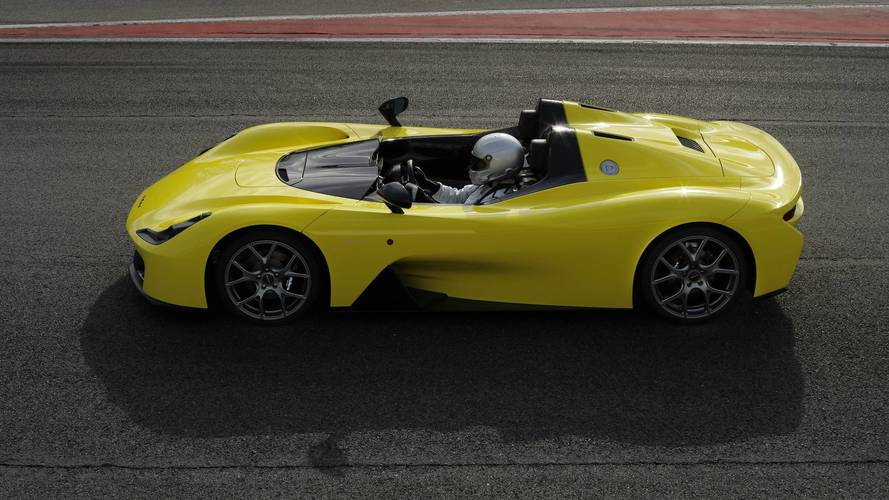 Dallara Stradale sports vehicle revealed