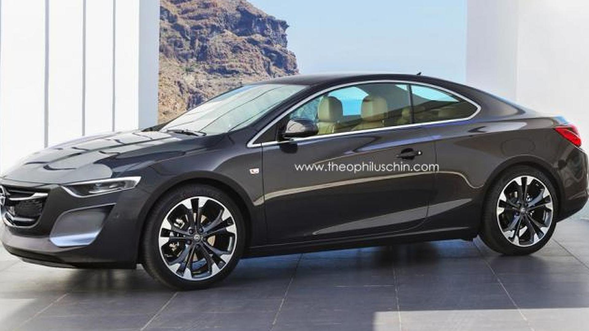 Next Gen Opel Calibra Rendered Inspired By Cascada Amp Monza Concept