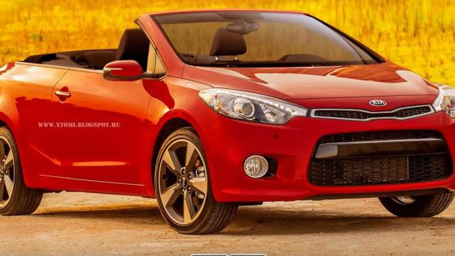 Kia Forte Cabrio rendered