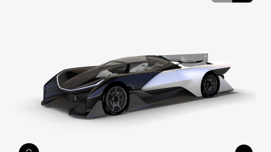 Faraday future concept leaked, could have more than 1,000 hp