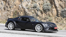 2017 Alpine sports car spy photo