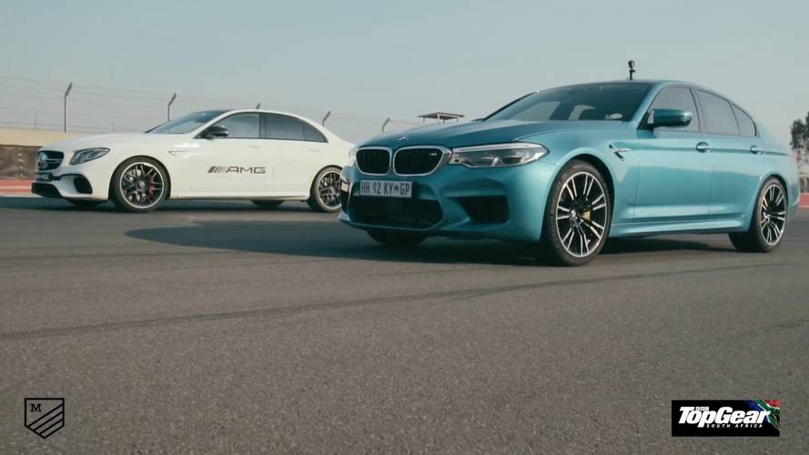 New Race, Different Winner: New BMW M5 Duels AMG E63 S