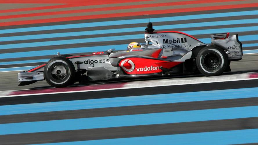 Lewis Hamilton says the French GP is happening at the wrong track