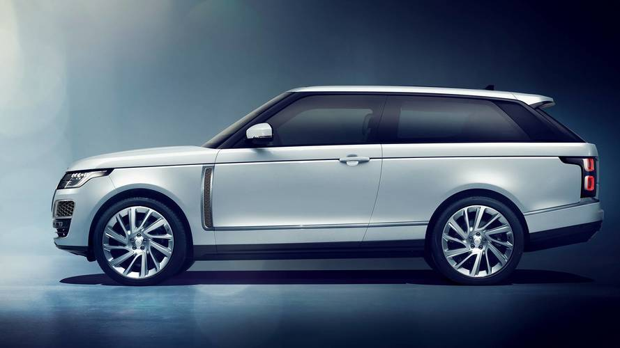 Range Rover SV Coupe Will Remain A Limited Edition Unicorn