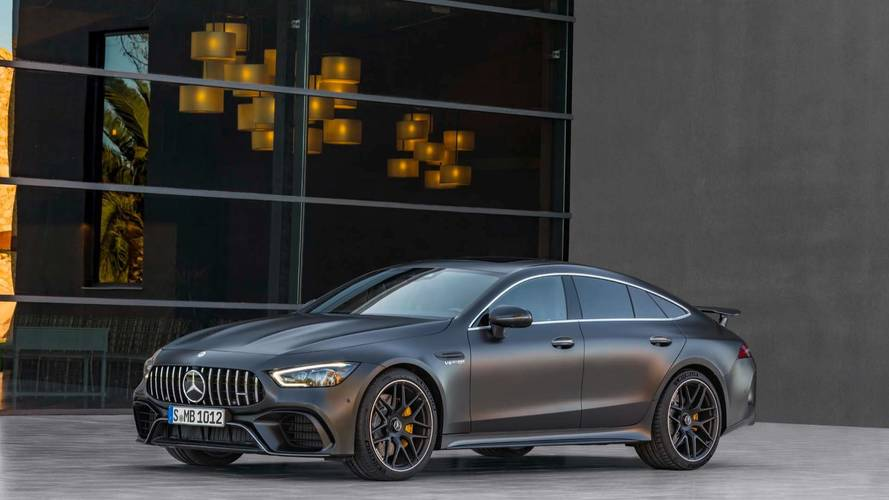 2019 mercedes amg gt 4 door coupe storms geneva with 630 hp for Mercedes benz amg gt coupe price