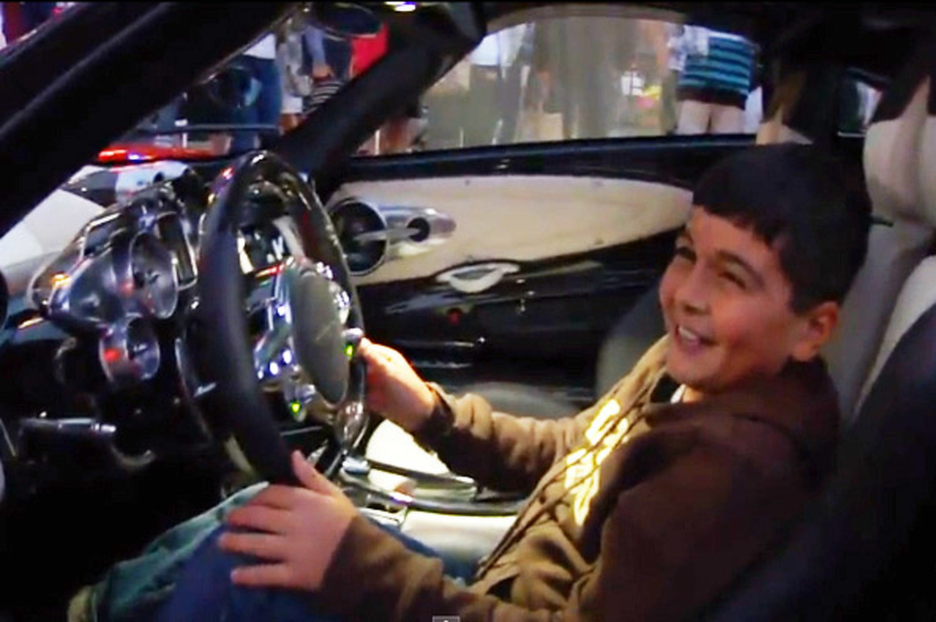 Video: Pagani Huayra Ignites the Car Enthusiast in 11-year-old Boy