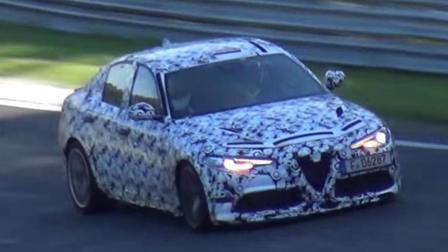 Alfa Romeo Giulia reportedly lapped Nurburgring in 7:43 minutes