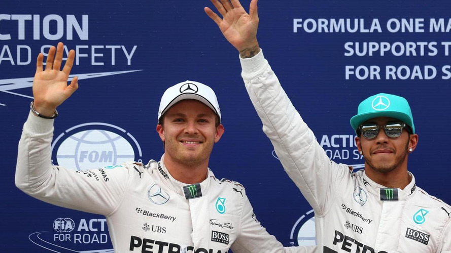 Rosberg denies 'blocking' Hamilton