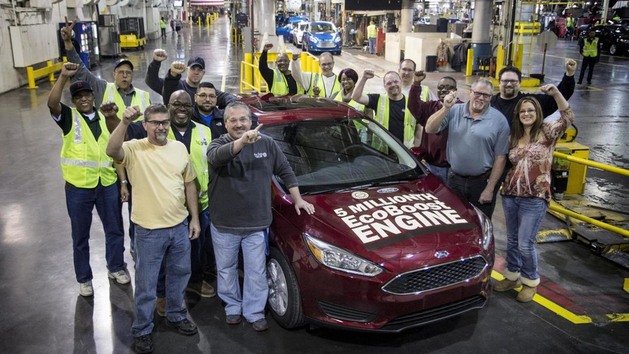 Ford builds their 5 millionth EcoBoost model