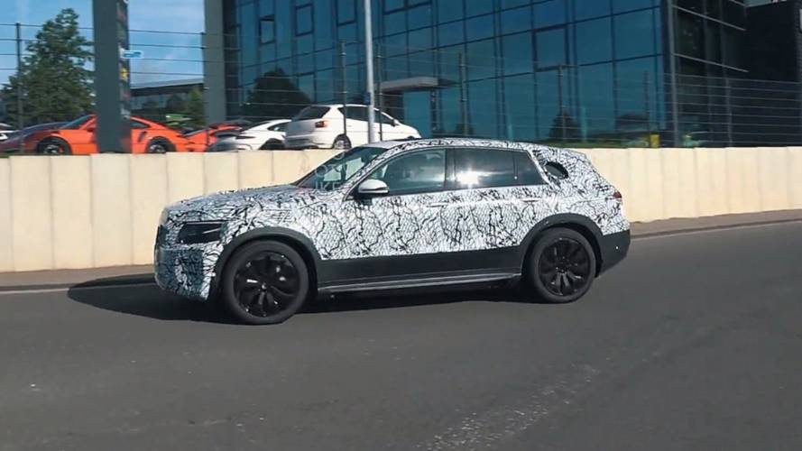 Mercedes EQ C Spied Again Still Wearing A Lot Of Camouflage