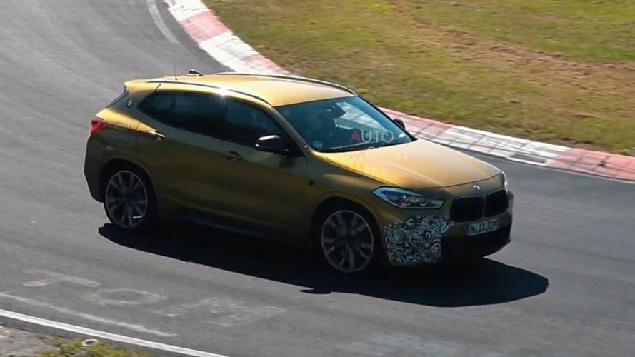 Hotter BMW X2 Spied Stretching Out At The Nürburgring Gym