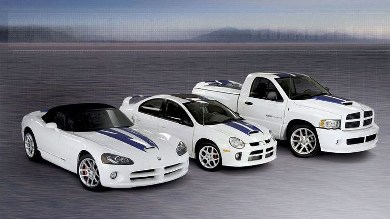 Dodge Viper SRT10, Dodge SRT4 and Dodge Ram SRT10