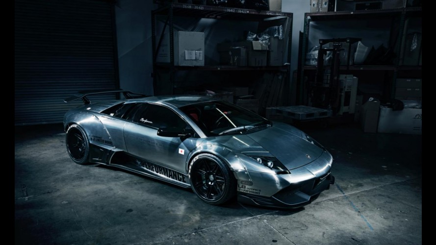 Liberty Walk LB Performance Lamborghini Murcielago Brushed Aluminum