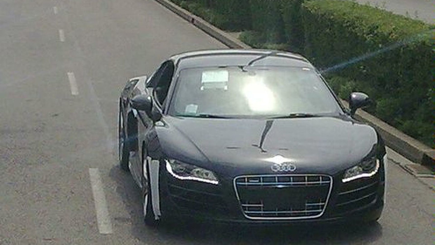 Latest Audi R8 V10 Spy Photos at Nürburgring