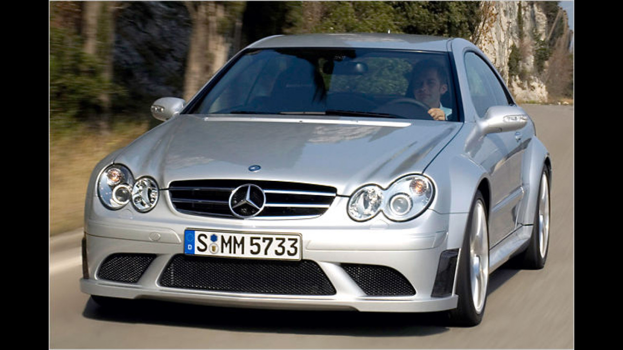 2007: CLK 63 AMG Black Series
