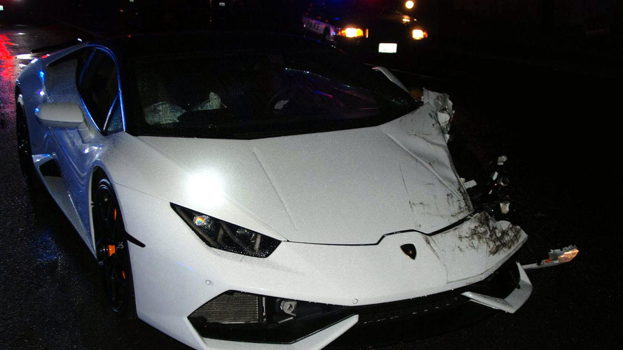 Crash Lamborghini Huracán location