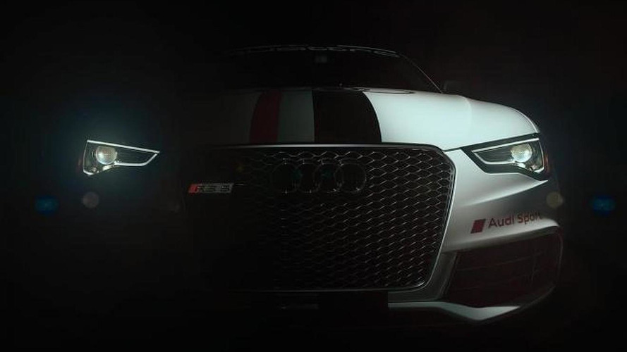 Audi RS5 teased for Pikes Peak Hill Climb